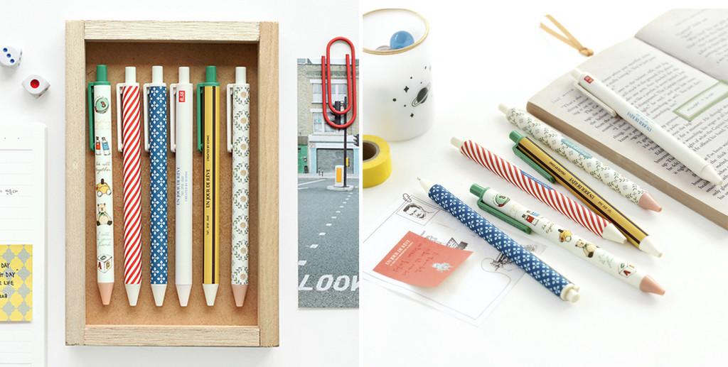 Bolígrafos iconic